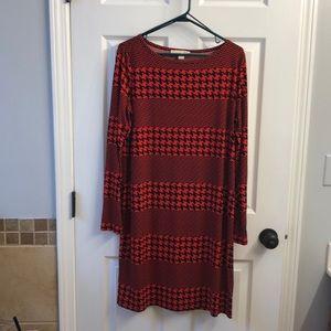 Michael Kors houndstooth dress SZ Large